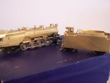 KTM U.S. HOBBIES IMPORTS O SCALE PENNSY 2-8-2 L-1 BRASS UNPAINTED USED MINT