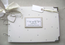 PERSONALISED WEDDING PLANNER.. A4  SIZE...PHOTO ALBUM/SCRAPBOOK/MEMORY BOOK.