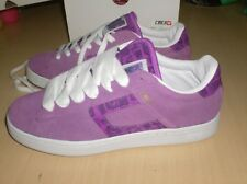 skateboard shoes circa cx 105   vintage new  --  purple stereo suede --  size 9