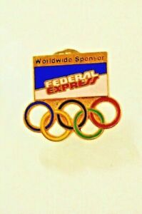 Fedex Worldwide Sponsor Olympic Pin Federal Express