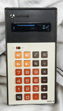 VIntage Rockwell 24RD II Calculator in Case - Good Working Order - 1970s