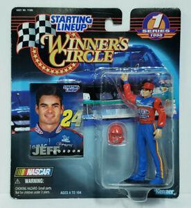 JEFF GORDON NASCAR Winner's Circle Starting Lineup SLU 1998 Action Figure & Card