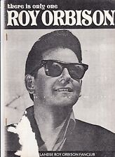 Roy Orbison-The Is Only One Fanclub Magazine From the dutch Roy Orbison Fanclub