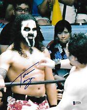Tama Tonga Signed 8x10 Photo BAS COA New Japan Pro Wrestling Bullet Club NJPW 4