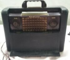 Vintage Admiral 5 Vacuum Tube AM Radio, Model 78B17-3. 5H1. PARTS ONLY   D12
