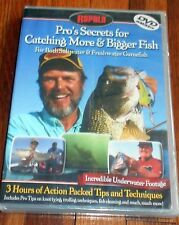 Pros Secrets for Catching More & Bigger Fish- Salt & Freshwater-from Rapala- DVD