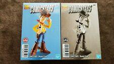 Disney PIXAR Woody Pride Figure TOY STORY COMICSTARS 2 type Figures Set JAPAN
