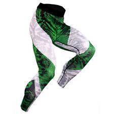 Men's Compression Cool Dry Pants Baselayer Basketball Fitness Running Leggings