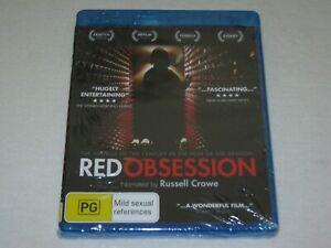 Red Obsession - Brand New & Sealed - Region B - Blu Ray