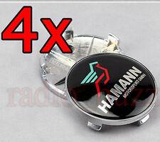 4 Caches Jante moyeux -Centre de roue - Boulon - HAMANN pour TUNING BMW 68mm