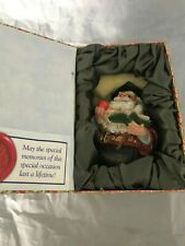 G. DEBREKHT ARTISTIC STUDIOS Hand Painted Graduation Bear in box