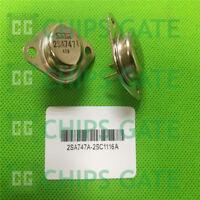 2 PAIRS Transistor SANKEN TO-3 2SA747A/2SC1116A A747A/C1116A