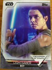 2020 Topps Women of Star Wars Weapon of Choice Select Choose Your Card