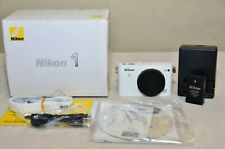 Nikon 1 J3 14.2MP Digital Camera - White (Body Only)  Only 1633 Shutter Count!!