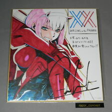 [Official exclusive] Darling in the Franxx Zero Two color print by Tanaka Shiga