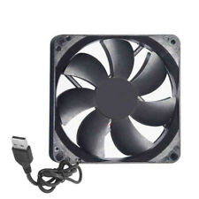 USB 5V 12cm Silent Computer Case Cooling Fan 120x120x25mm PC CPU Cooler HI