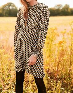 Next Women  Collared Long Sleeve Mini Dress All Sizes