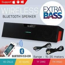 Wireless Powerful Portable Bluetooth Loud Stereo Speaker Hi-Fi USB AUX TF Slot