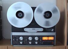 Studer REVOX b77 MKII con Vario Speed 2 traccia 2 Track Tape Recorder + 2 bobine