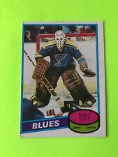 MIKE LIUT ROOKIE O-Pee-Chee NHL Hockey Card #31 1980-81