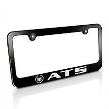 Cadillac ATS Black Metal License Plate Frame