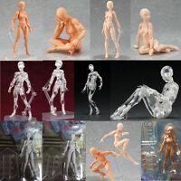 Figma 13CM Archetype Art Action Figure Model Accessory Flesh Color Version Toy