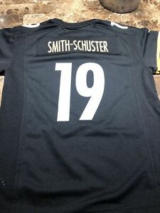 Juju Smith-Schuster Pittsburgh Steelers #19 Black NFL Youth Jersey L