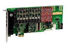 OpenVox AE1610E21 16 Port Analog PCI-E card base board + 2 FXS + 1 FXO + EC2032