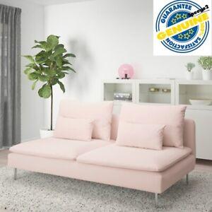 IKEA SODERHAMN Sofa Cover Slipcover SAMSTA LIGHT PINK 303.282.99 Washable Sealed