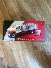 BRIGGS & STRATTON COLLECTOR TOY 2008 EDITION FORD F-650 FULL STAKE TRUCK