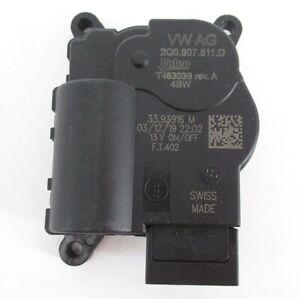 Genuine OEM Volkswagen 2Q0-907-511-D HVAC Recirculation Adjust Door Motor