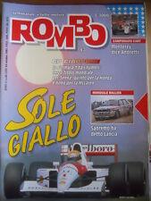 ROMBO n°43 1991 Lancia Delta HF Integrale Rally di Sanremo   [P67]