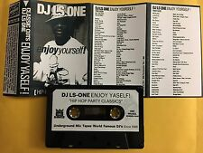 DJ LS One Tape Kingz Enjoy Yourself Hip Hop Party Classics 90s Mixtape Cassette