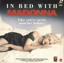 Madonna In Bed With Madonna UK laserdisc / lazerdisc VCLD6355 DDLC 1993