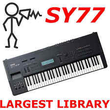 Yamaha SY77 TG77 .T01 .SYX 30,000+ - Sounds Programs Patches Largest Library