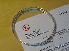 """9999 Pure Silver Wire 14 Gauge 4 feet (48"""") UL® Verified True 99.99%"""
