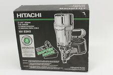 """Hitachi 3 1/4"""" Coil Nailer NV83A5 Framing, Decking 15 Degree Coil Nailer"""
