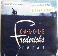 "CAROLE FREDERICKS  - CD SINGLE PROMO ""SHINE / SILENT NIGHT"""