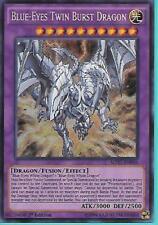 Yugioh MP17-EN056 Blue-Eyes Twin Burst Dragon 1st Edition Secret Rare Card
