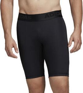 adidas AlphaSkin Sport Mens Short Training Tights - Black