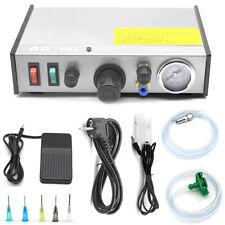 220V AD-982 Semi-Auto Glue Dispenser PCB Solder Paste Liquid Controller Dropper