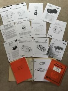 DITCH WITCH JT920L REPAIR SERVICE PARTS manuals LITERATURE