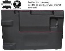 PINK Stitch PORTELLONE PORTA CARD LTHR Copertura Per Land Rover Defender 90 03-17 3DR