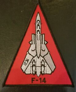 F-14 TOMCAT US NAVY 4 BY 4 1/2 INCHES PATCH - MADE IN THE USA!