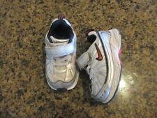 Nike baby 6 C Sneaker Silver Black DART VI Leather running shoe infant