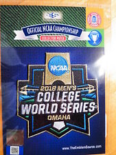 Official Licensed NCAA 2018 Men's College Baseball World Series Patch