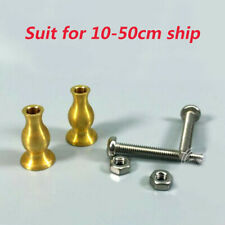 1:700 1:350 Scale Model Ship Display Pedestals Copper Column Brass Supports