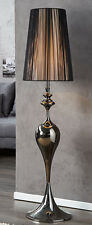 Stehlampe Stehleuchte SCULTURA schwarz 160cm klassische Design Lampe Leuchte NEU