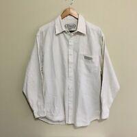 Billabong Vintage 90's Surfwear Linen Button Front Shirt Mens Medium