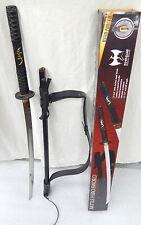 Shinwa Battle Hero Sword w Scabbard Japanese Royalty Samurai KZ2558CBB OOP